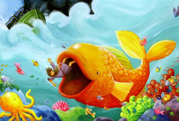 Free Jonah Fish Cliparts Download