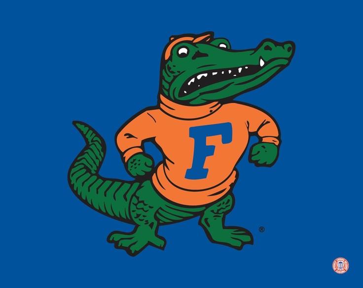 florida gator football albert logo clipart - clip art library