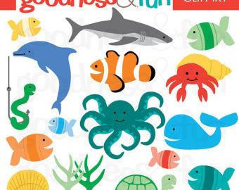 Free Ocean Animal Cliparts Download Free Ocean Animal Cliparts Png Images Free Cliparts On Clipart Library