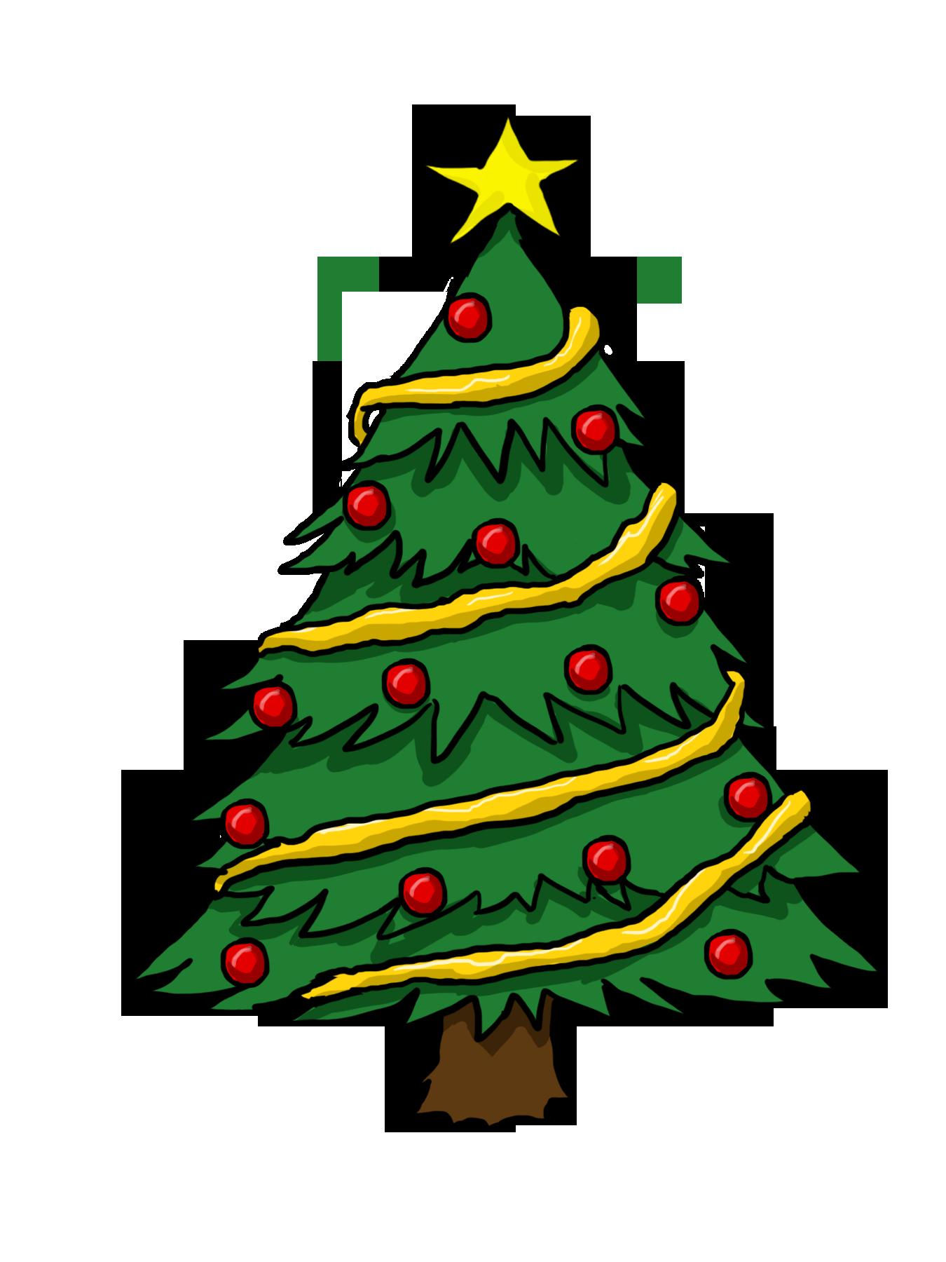 Free Christmas Tree Clip Art Borders