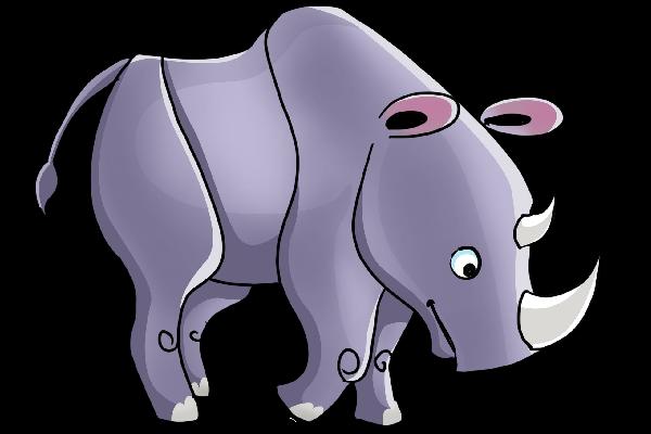 free rhino cliparts   free download clip art   free clip art   on