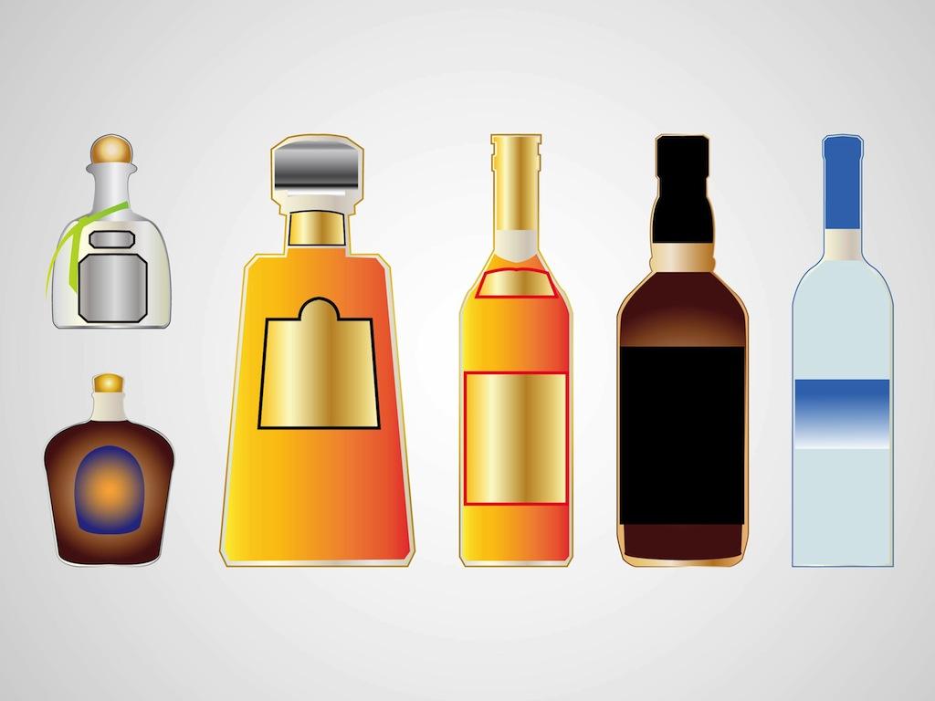 Free Liquor Bottle Cliparts, Download Free Clip Art, Free Clip Art on Clipart Library