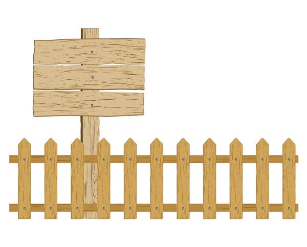 Cartoon fence clipart