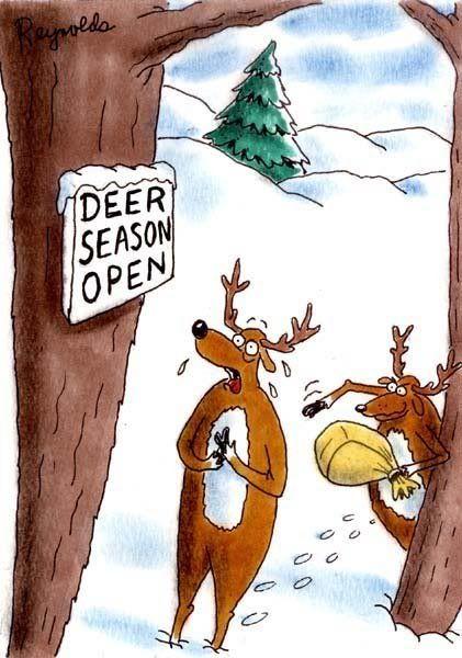 Funny Deer Hunter Clipart 8262