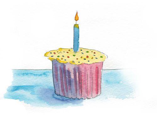 Free Watercolor Cupcake Cliparts Download Free Clip Art