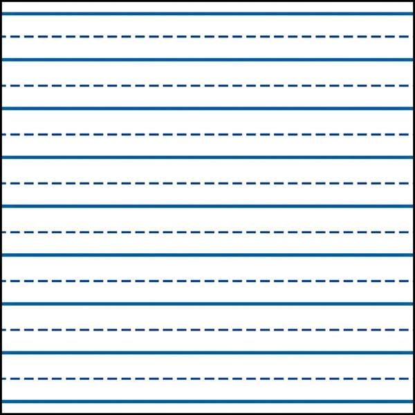 1106260 - Lined Paper For Kindergarten