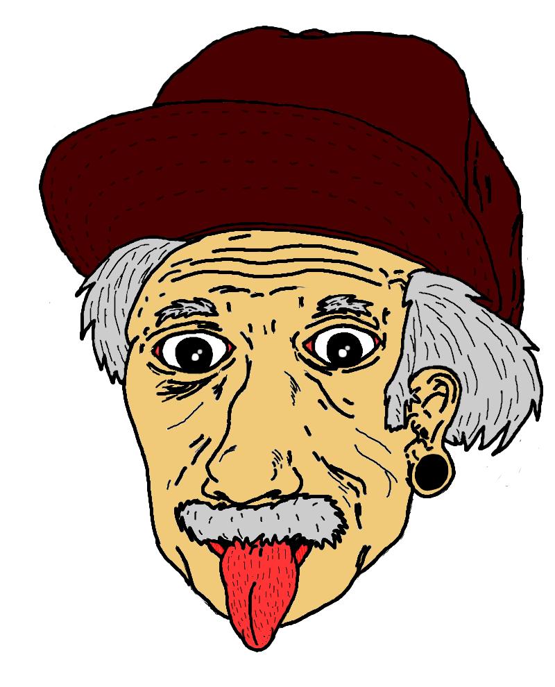 Albert Einstein Moderno By EdCicero