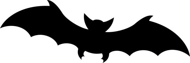 Bat pumpkin carving stencil. Free PDF pattern to download ... |Bats Boo Pumpkin Stencil
