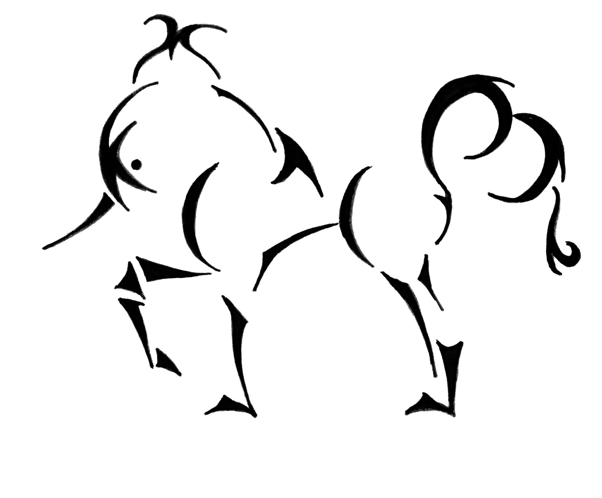 Free Elegant Unicorn Cliparts