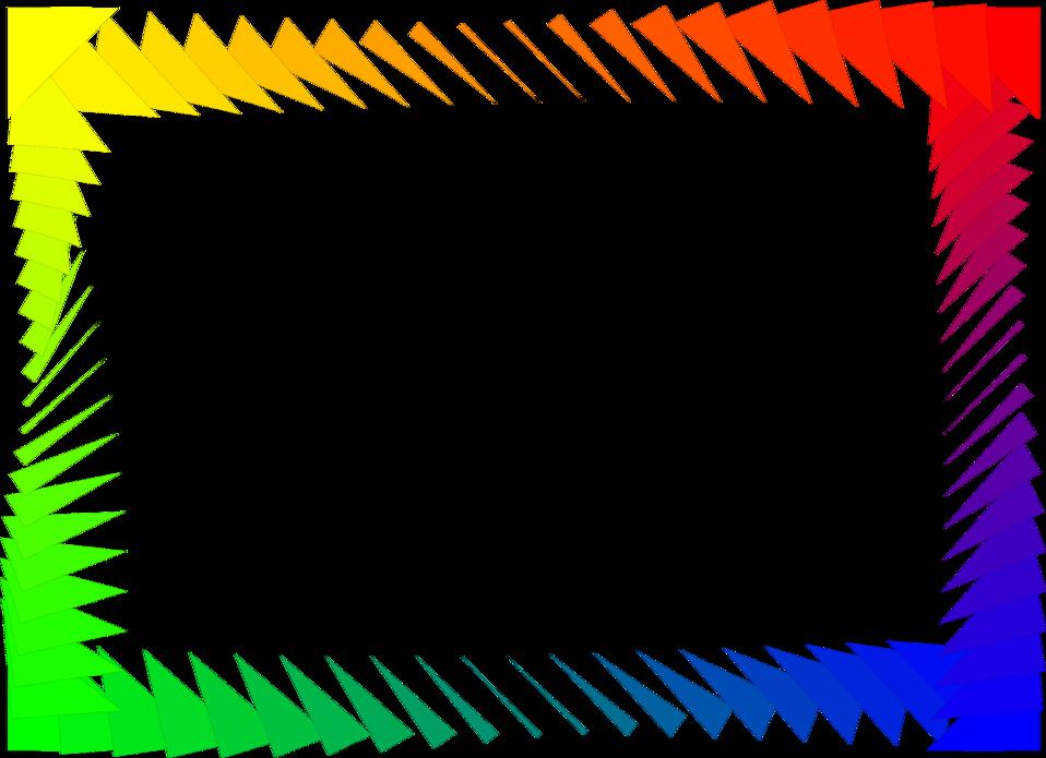Free Rainbow Border Cliparts, Download Free Rainbow Border ...