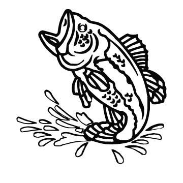 bass jumping cliparts   free download clip art   free clip art