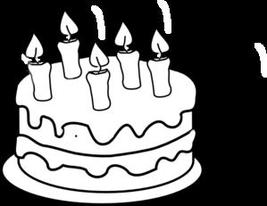 Free Dessert Cliparts Black Download