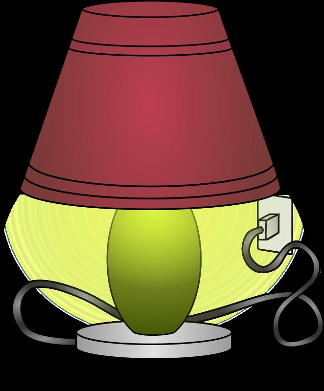 Lamp Clipart Printable Lamp Image Black And White Digital