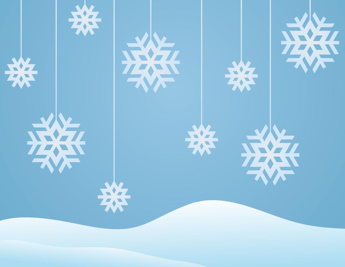 Картинки для детей зима снежинки