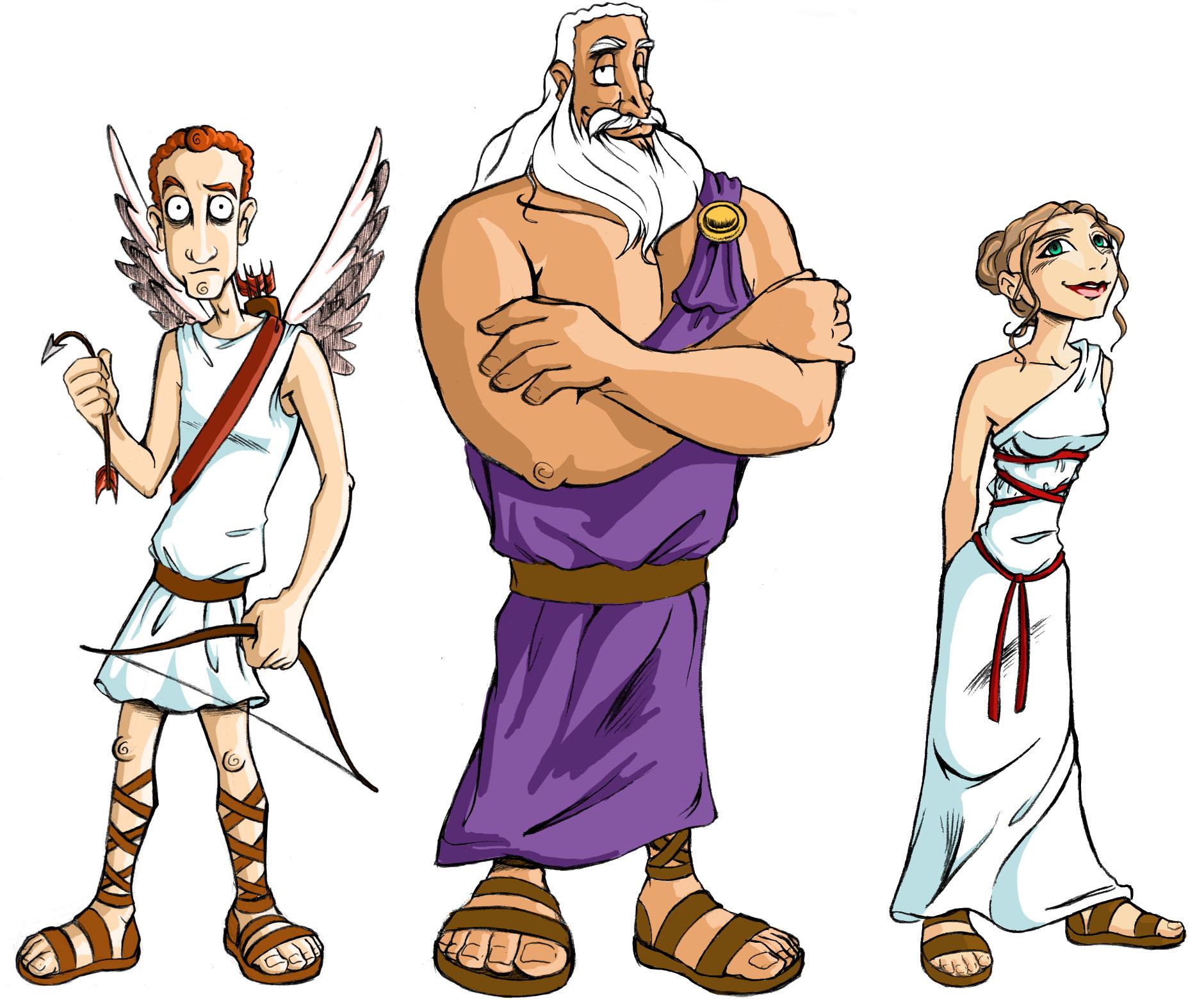 первую картинки греческих богов смешные разжевала разложила полочкам