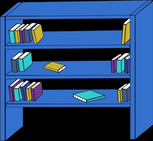 Empty Kitchen Cupboard: Bookcase
