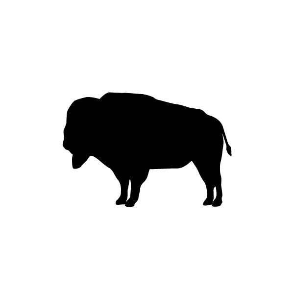 Buffalo Silhouette Clipart