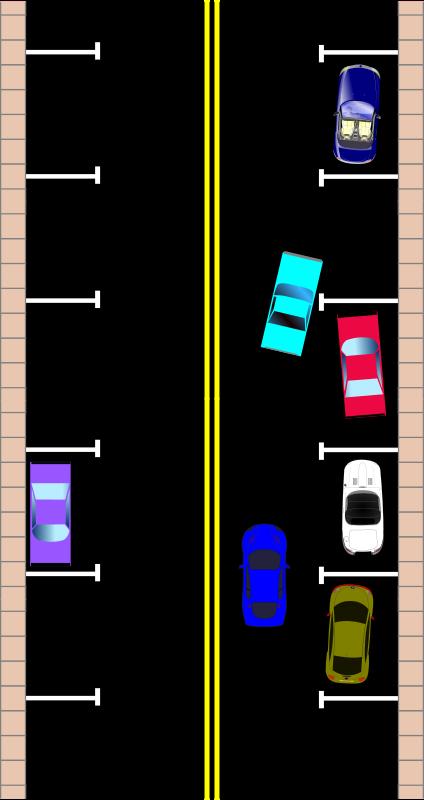 Street Parking Clipart