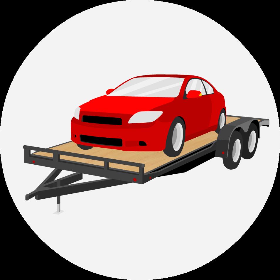 Free Car Hauler Cliparts Download