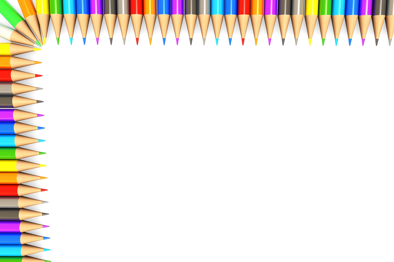 pencil border - Clip Art Library
