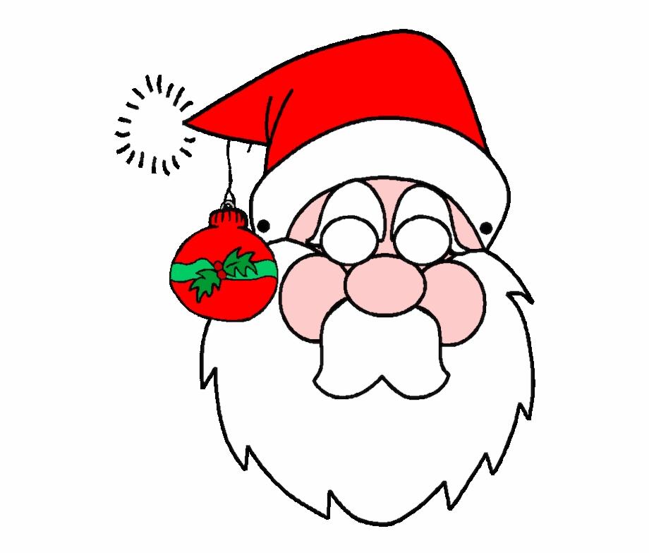 Santa Claus Template Printable Free Christmas Decorations ...