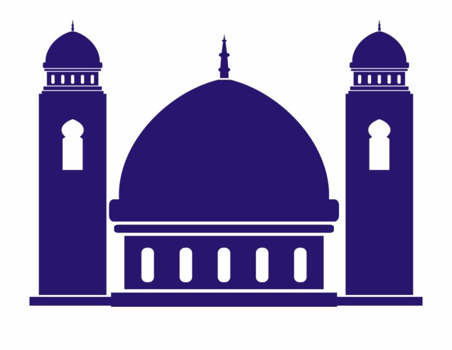 257 2573022 the mosque cartoon silhouette religion masjid kartun