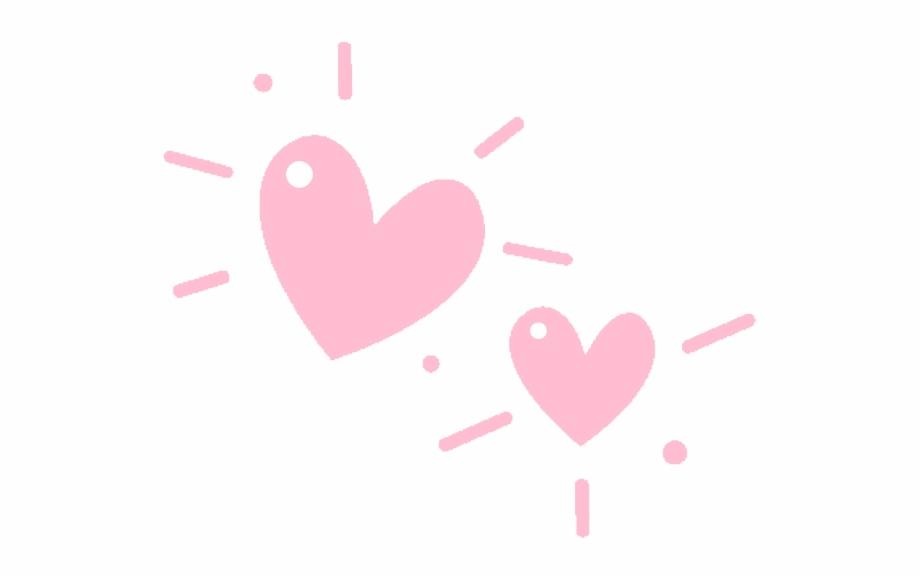 Cute Heartstickers Stickers Transparent Cute Heart Sticker Clip Art Library