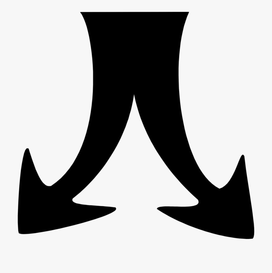 Split Arrow Clip Art Clip Art Library