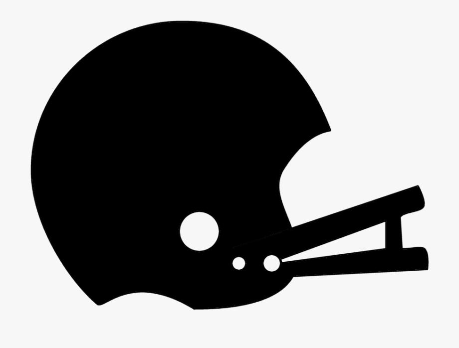 Football Helmet Clipart Black And White Clip Art Library