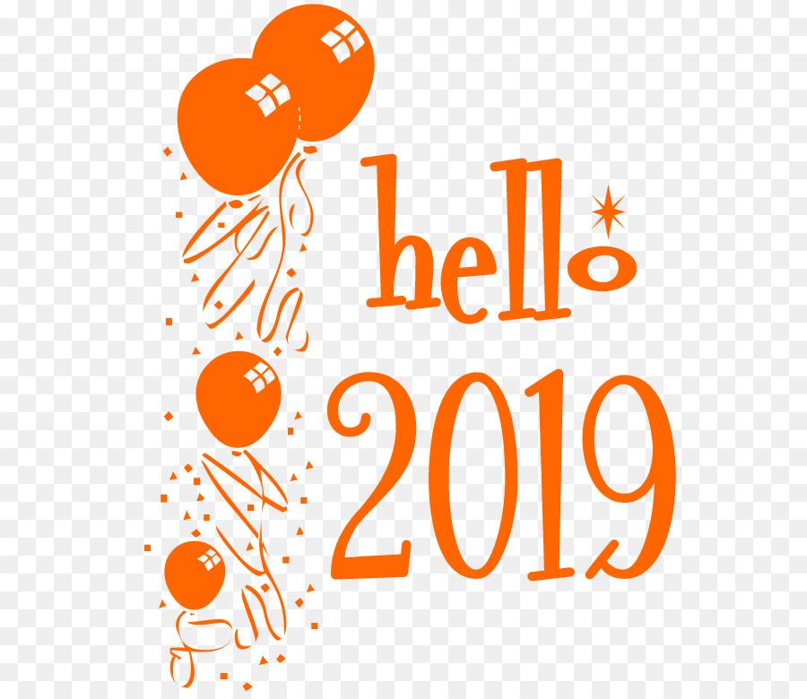 Happy New Year Logo 2019 82